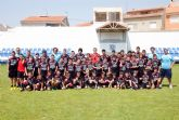 Patxi Salinas clausura el ´I campus de fútbol sala Bahía de Mazarrón´