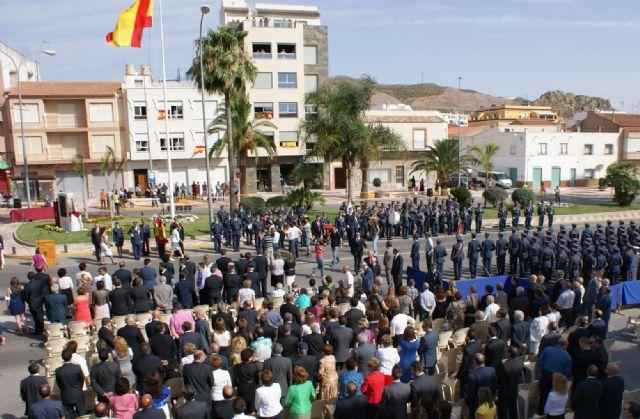 Puerto Lumbreras congrega a 4.000 personas en la Jura de Bandera Civil de la Academia general del Aire de San Javier - 1, Foto 1