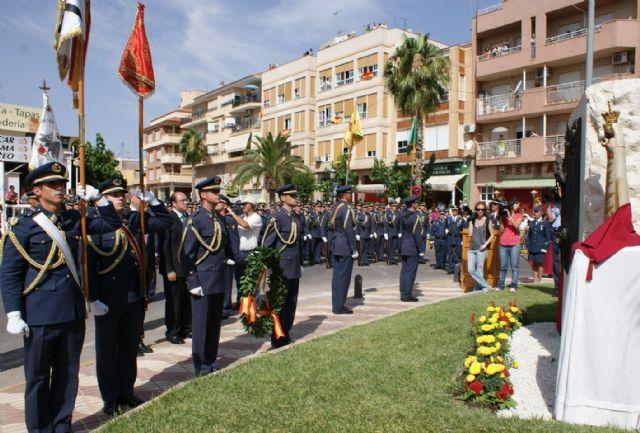 Puerto Lumbreras congrega a 4.000 personas en la Jura de Bandera Civil de la Academia general del Aire de San Javier - 2, Foto 2