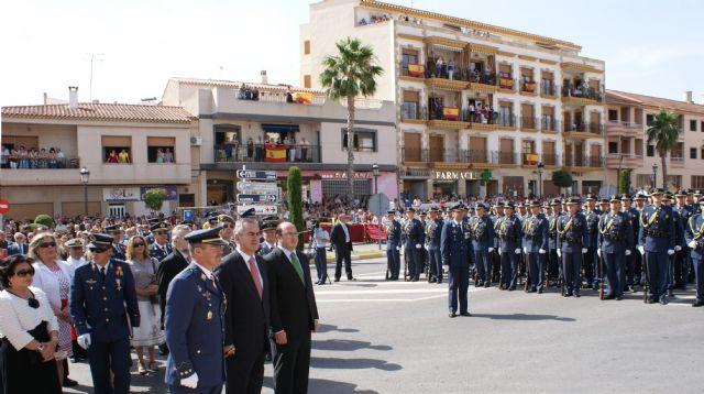 Puerto Lumbreras congrega a 4.000 personas en la Jura de Bandera Civil de la Academia general del Aire de San Javier - 4, Foto 4