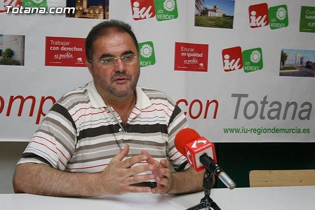 IU en Totana denuncia que la irresponsabilidad de Martínez Andreo y el PP ha hecho que se incremente la deuda, Foto 1