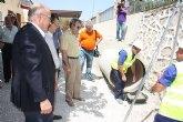 La Comunidad invierte 2,5 millones de euros en el acondicionamiento de la acequia de Los Charcos en Cieza