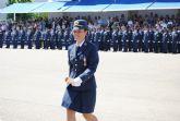 El Príncipe de Asturias presidió en San Javier la entrega de despachos a 61 nuevos oficiales del Ejército del Aire
