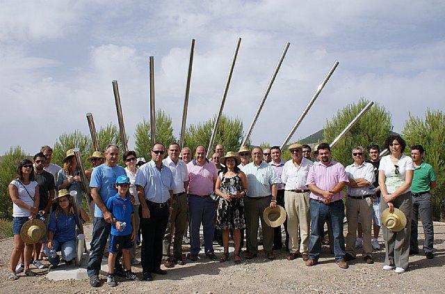 El Alcalde y la Presidenta de Grupo Tragsa inauguran el nuevo sendero ecoturístico sobre astronomía en Puerto Lumbreras - 1, Foto 1