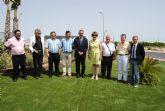 El delegado del Gobierno y la alcaldesa de San Javier inauguran los nuevos accesos al Hospital del Mar Menor