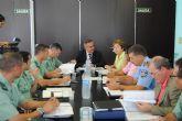 El delegado del Gobierno destaca el descenso de la criminalidad en San Javier en el primer semestre del año
