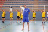 El �Campus de Baloncesto Fran Murcia Bah�a de Mazarr�n� duplica el n�mero de participantes