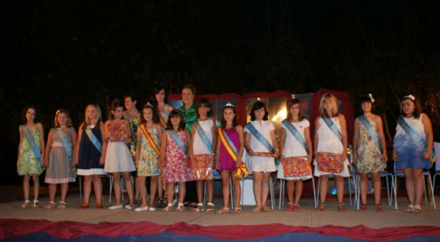 Noemí Ayala coronada como Reina Infantil 2010 de Puerto Lumbreras - 2, Foto 2