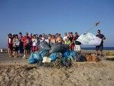 Un grupo de voluntarios recogen más de 500 kilos de basura