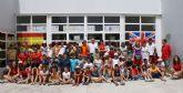 Puerto Lumbreras congrega a 60 jóvenes en el primer Campamento de verano del Cabezo la Jara destinado al aprendizaje de inglés