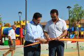 Los vecinos de Lo Pagán ya pueden disfrutar de un nuevo parque