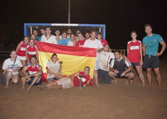 Celebrado el ´II torneo de balonmano playa´ - 1, Foto 1
