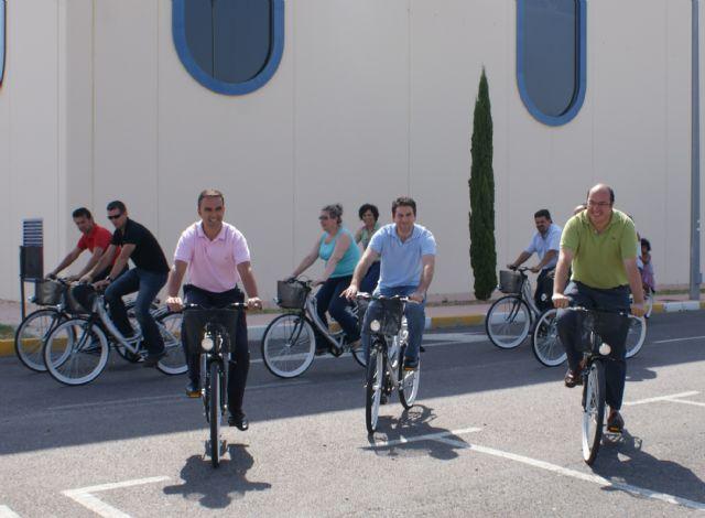 Ayuntamiento y Comunidad ponen en marcha 'BiciPuerto' un nuevo servicio público y gratuito de préstamo de bicicletas en Puerto Lumbreras - 1, Foto 1