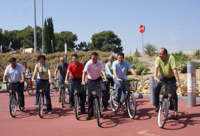 Ayuntamiento y Comunidad ponen en marcha 'BiciPuerto' un nuevo servicio público y gratuito de préstamo de bicicletas en Puerto Lumbreras - 2, Foto 2