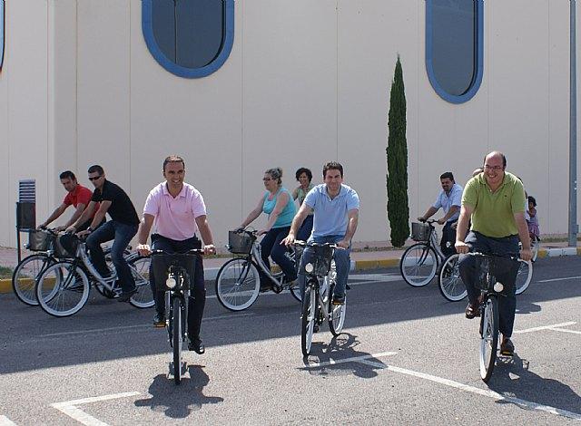 La Comunidad y el Ayuntamiento de Puerto Lumbreras ponen en marcha un servicio público de préstamo de bicicletas - 1, Foto 1