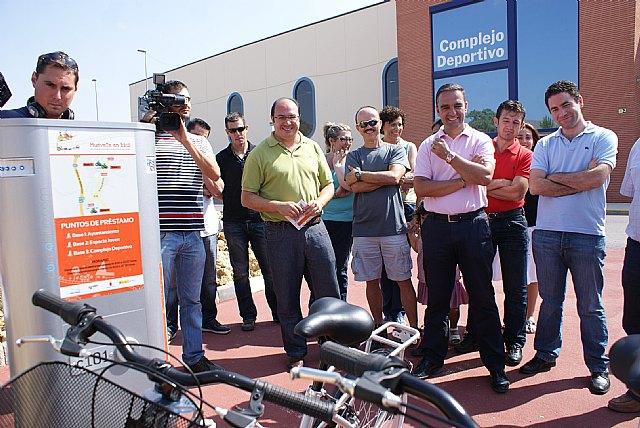 La Comunidad y el Ayuntamiento de Puerto Lumbreras ponen en marcha un servicio público de préstamo de bicicletas - 2, Foto 2