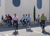 La Comunidad y el Ayuntamiento de Puerto Lumbreras ponen en marcha un servicio público de préstamo de bicicletas