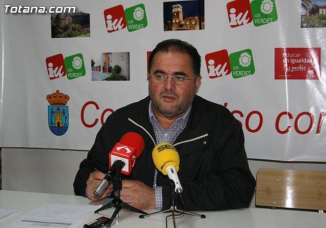 Cánovas exige a Valcárcel que no permita ni un día más que acusados de graves delitos por la Justicia sigan representando a Totana, Foto 1