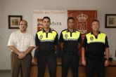 Esta mañana ha tenido lugar el acto de toma de posesión de dos nuevos Agentes de Policía Local en Fortuna