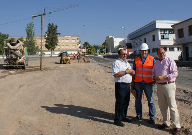 Comienzan las obras de remodelación del acceso a Puerto Lumbreras desde la carretera D19 de Águilas y su conversión en una nueva avenida - 1, Foto 1