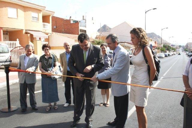 Obras Públicas finaliza las labores de mejora de una de las entradas al centro urbano de Archena - 1, Foto 1