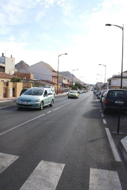 Obras Públicas finaliza las labores de mejora de una de las entradas al centro urbano de Archena - 2, Foto 2