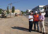 Comienzan las obras de remodelación del acceso a Puerto Lumbreras desde la carretera D19 de Águilas y su conversión en una nueva avenida