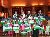 El Alcalde de Molina de Segura recibe a los niños saharauis de los campamentos de refugiados de Tindouf