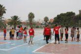 Jóvenes de diferentes comunidades participan en el campo de trabajo intercultural de Torre-Pacheco
