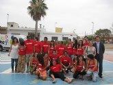Jóvenes de varias comunidades participan en el campo de trabajo intercultural de Torre Pacheco