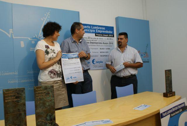 Puerto Lumbreras acogerá el acto de entrega de los premios Municipio Emprendedor 2010 - 1, Foto 1