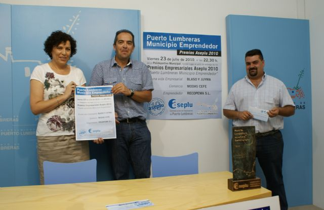 Puerto Lumbreras acogerá el acto de entrega de los premios Municipio Emprendedor 2010 - 2, Foto 2