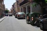 Aplicarán sanciones de 150 hasta 750 euros a los vecinos que no depositen los residuos dentro de los horarios establecidos