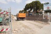 El relleno de la Vía Verde del Barrio Peral estará listo a finales de agosto