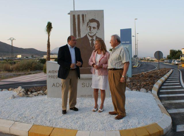 El Alcalde y la Consejera de Presidencia y Administraciones Públicas inauguraron la nueva Avenida 'Presidente Adolfo Suárez' - 1, Foto 1