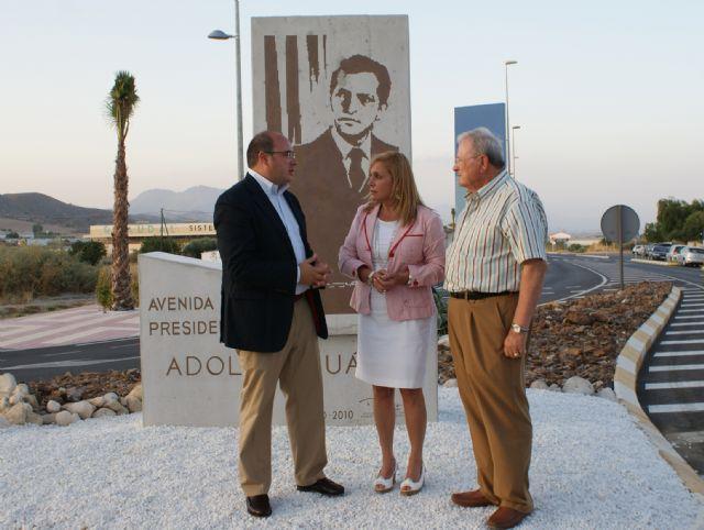 El Alcalde y la Consejera de Presidencia y Administraciones Públicas inauguraron la nueva Avenida 'Presidente Adolfo Suárez' - 2, Foto 2