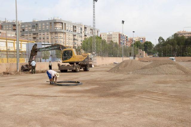 El campo municipal de Ciudad Jardín tendrá césped artificial en un mes - 1, Foto 1