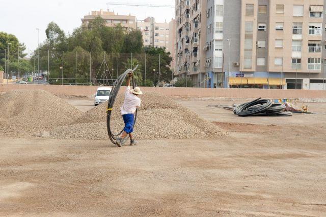 El campo municipal de Ciudad Jardín tendrá césped artificial en un mes - 4, Foto 4