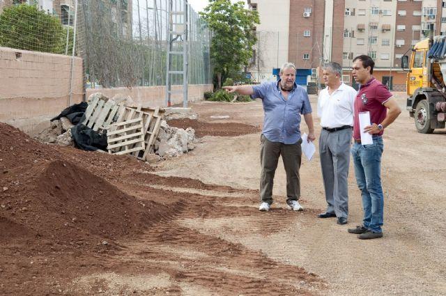 El campo municipal de Ciudad Jardín tendrá césped artificial en un mes - 5, Foto 5