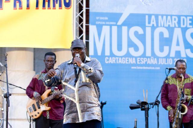 La legendaria orquesta Poly-Rythmo trajo a Cartagena sus ritmos africanos - 1, Foto 1