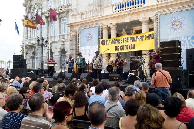La legendaria orquesta Poly-Rythmo trajo a Cartagena sus ritmos africanos - 2, Foto 2