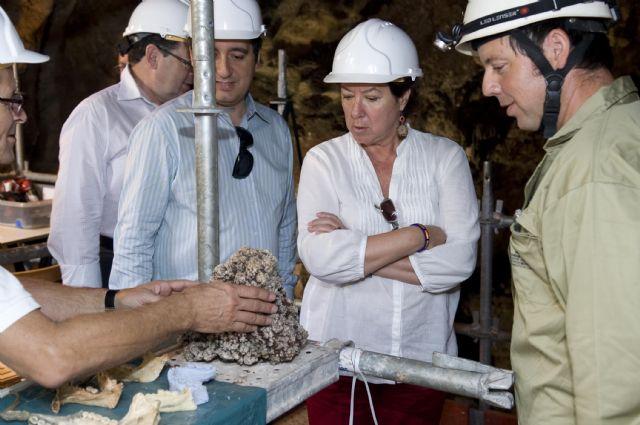 La alcaldesa anuncia una jornada de puertas abiertas en Cueva Victoria - 5, Foto 5