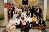 El grupo folklórico Ciudad de Cartagena, de viaje a Huesca