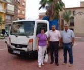 La Comunidad entrega al Ayuntamiento de Pliego un nuevo camión para los servicios municipales