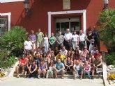 J�venes europeos y asi�ticos finalizan el campo de trabajo de arqueolog�a de Alhama