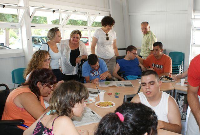 Puerto Lumbreras acoge a 40 jóvenes en el Campamento de Verano organizado por la asociación de discapacitados FAMDIF - 1, Foto 1