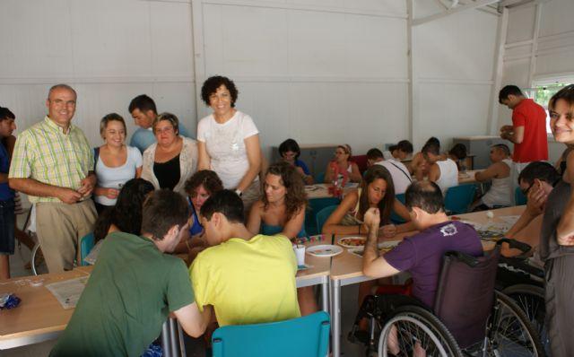 Puerto Lumbreras acoge a 40 jóvenes en el Campamento de Verano organizado por la asociación de discapacitados FAMDIF - 2, Foto 2