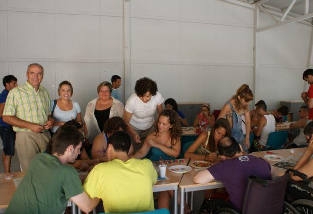 Puerto Lumbreras acoge a 40 jóvenes en el Campamento de Verano organizado por la asociación de discapacitados FAMDIF - 3, Foto 3