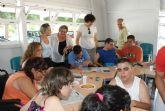 Puerto Lumbreras acoge a 40 jóvenes en el Campamento de Verano organizado por la asociación de discapacitados FAMDIF