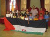 Hontoria recibe a los veinticinco niños saharauis que pasan el verano con familias del municipio
